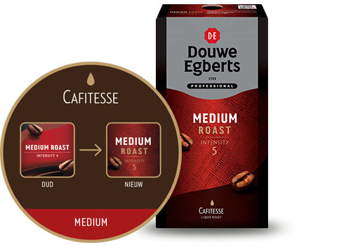 Cafitesse Koffie Medium Roast