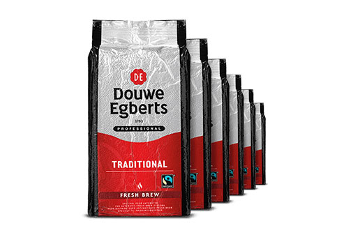 Douwe Egberts Fresh Brew Traditional Fairtrade