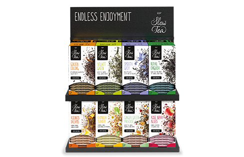 slow tea assortiment endless enjoyment