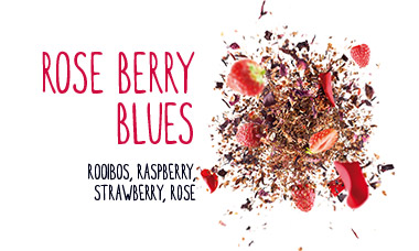 rose berry blues rooibos raspberry strawberry rose