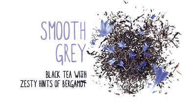 smooth grey black tea with zesty hints of bergamot